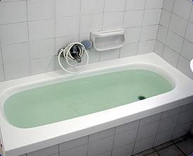האמבטיה מוכנה לשימוש