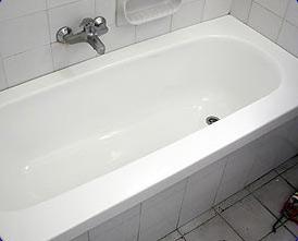 לאחר שיפוץ האמבטיה